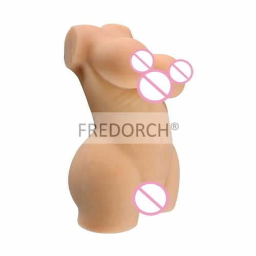FREDORCH 7.5KG Silicone Sex Dolls with Vagina and Anal